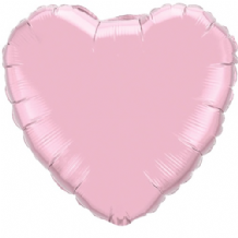 "Pearl Pink Heart Foil Balloon (36"") 1pc"